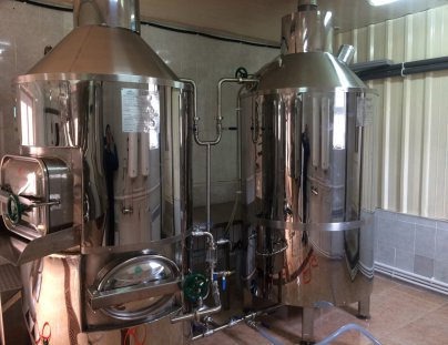 Mini-brewery in Yerevan