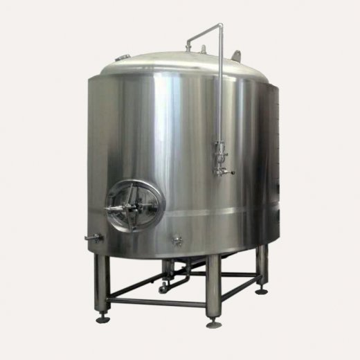Single-wall post-fermentation tanks